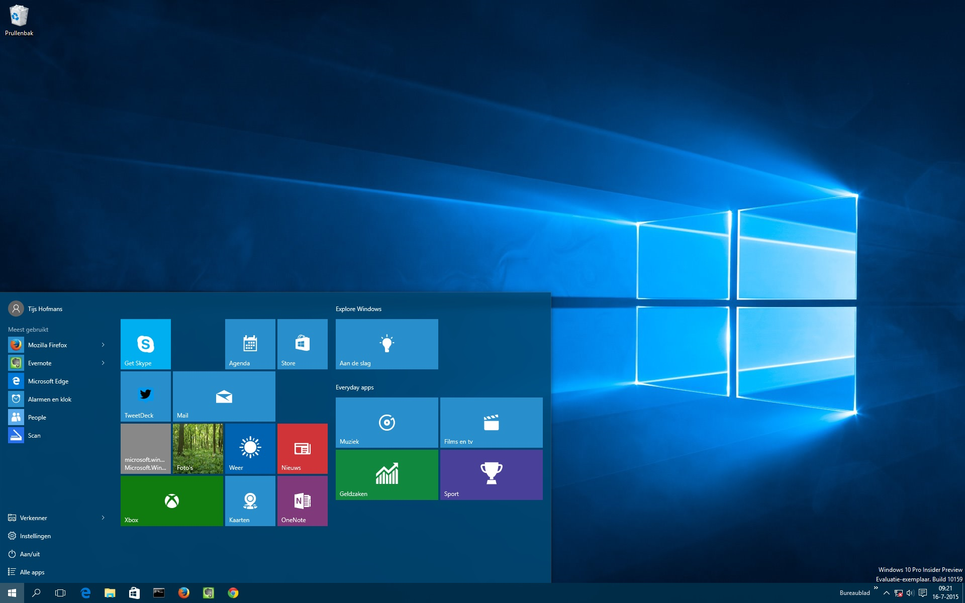 Windows 10 bureaublad aanpassen computer idee for Windows 8 bureaublad