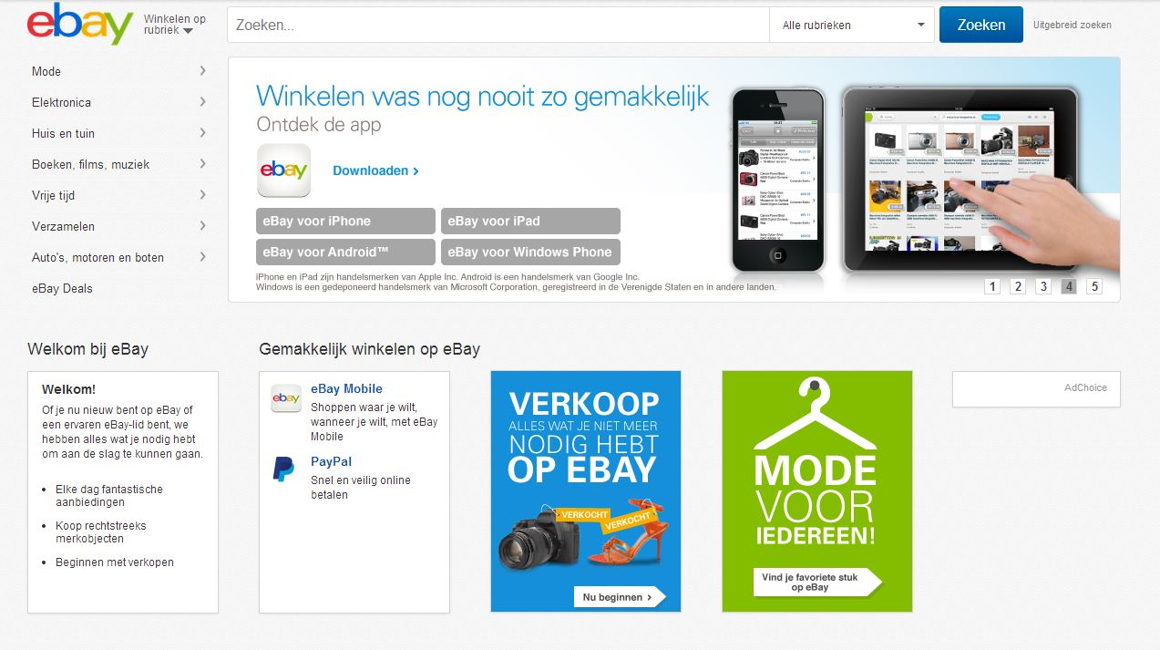 Verander je eBay wachtwoord nú | Computer Idee