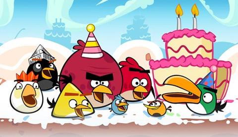 Angry Birds Viert Verjaardag Met 30 Nieuwe Levels Computer Idee