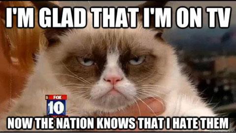 Image of: Realgrumpycat Grumpy Cat Tv Amazoncom Grumpy Cat Film Op Komst Computer Idee