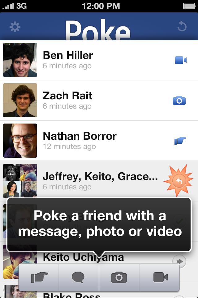 poking on facebook flirt