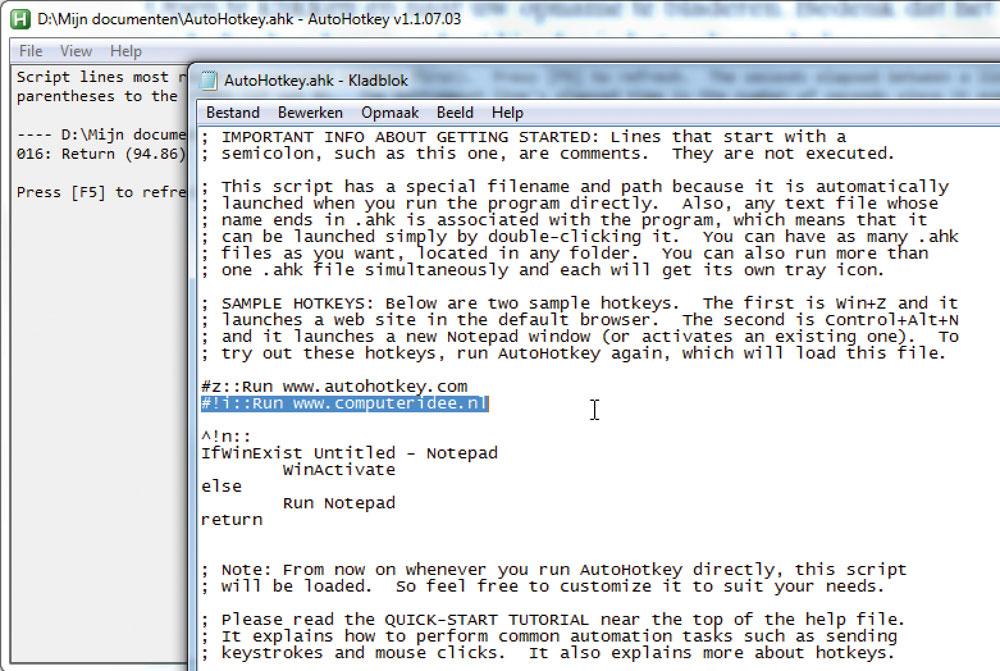 Autohotkey Zet Windows Naar Uw Hand Computer Idee