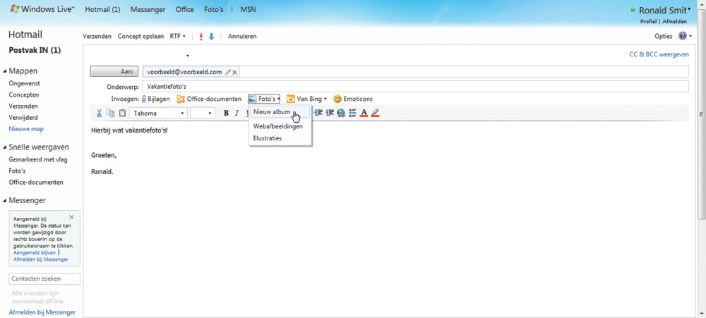 Outlook.com is a free, personal email service from Microsoft. ... Use ...