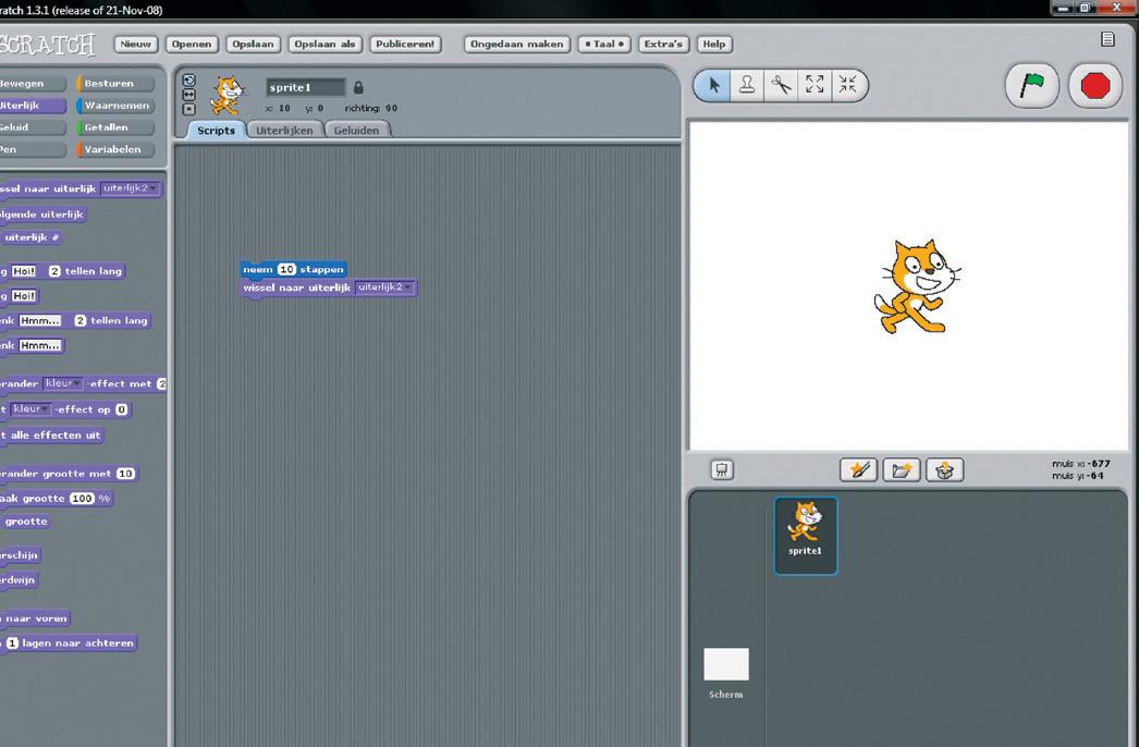 Zelf programmeren met scratch computer idee for Plattegrond maken op de computer