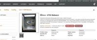 Malware voor pinautomaten te koop op dark web