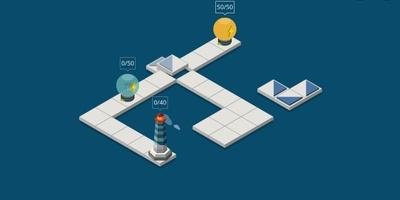 Light House - voorzie de vuurtoren van licht