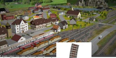 3D Train Studio - Bouw de modelbaan van uw dromen