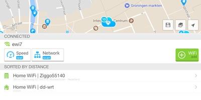 Wifi Map - Vind wifi-netwerken in je omgeving