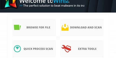 Winja - Snel bestanden online scannen