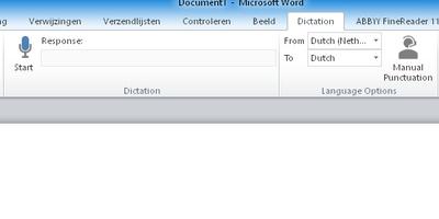 Dictate - Dicteer voortaan je teksten in Word