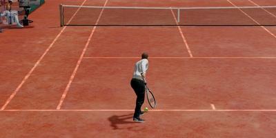 Tennis Revolution - Tennissen met één vinger en zonder zweet
