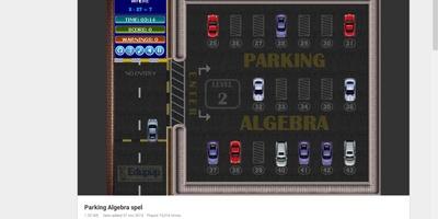 Parking Algebra - Rekenen en parkeren tegelijk