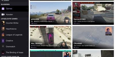 Twitch - Kijk naar live-streams van games