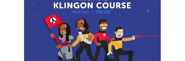 Duolingo's Klingon-cursus is eindelijk beschikbaar