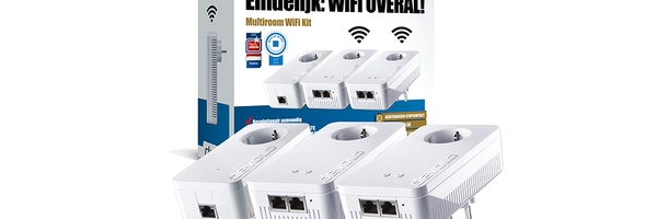 Win een Multiroom WiFi Kit van devolo