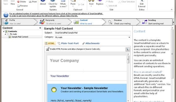 SmartSerialMail - Maak een geïndividualiseerde nieuwsbrief