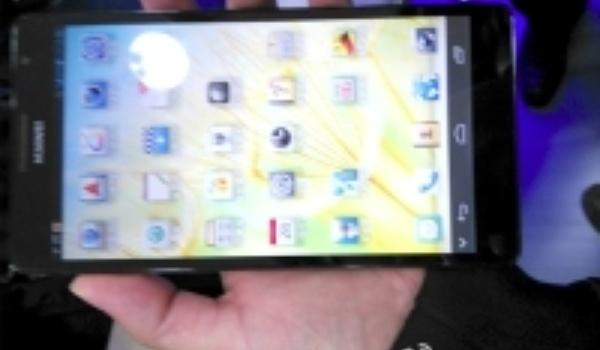 Topman Huawei toont 6.1-inch smartphone