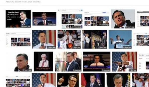 Google hates Romney?