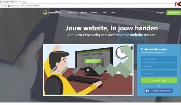 Jouwweb: website maken