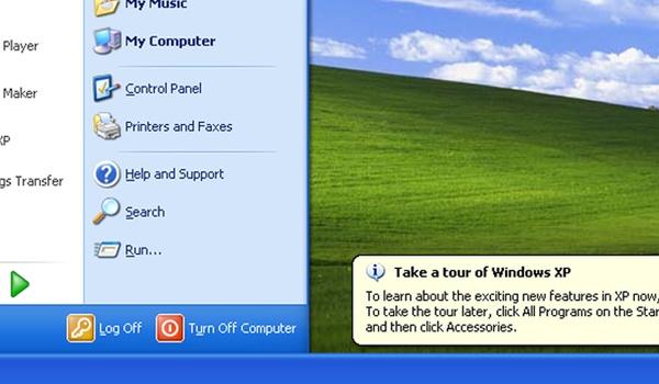 Duidelijke daling in aantal Windows XP-gebruikers