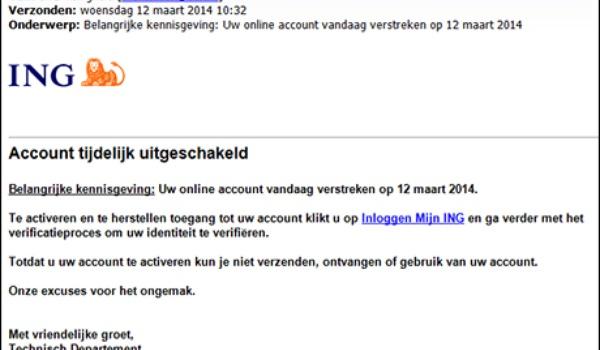 Eddy Willems beantwoordt een vraag over phisingmails