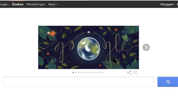Tips voor de Dag van de Aarde via een Google doodle