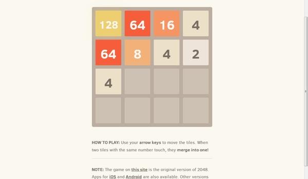 2048 - Een verslavende cijferpuzzel