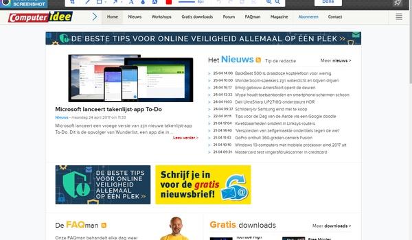 Awesome Screenshot - Leg webpagina's vast en annoteer ze