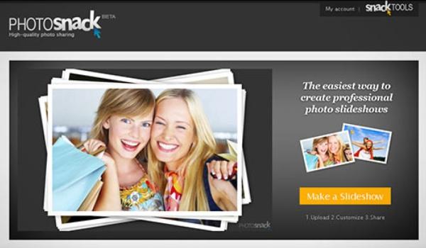 Slideshows van foto's maken met Photosnack (2)