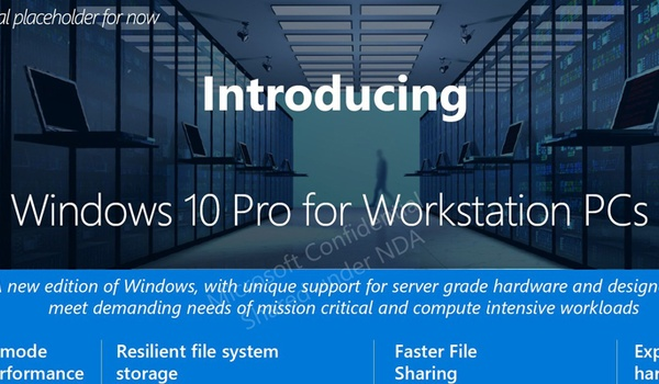 Windows 10 Pro for Advanced PCs duikt op