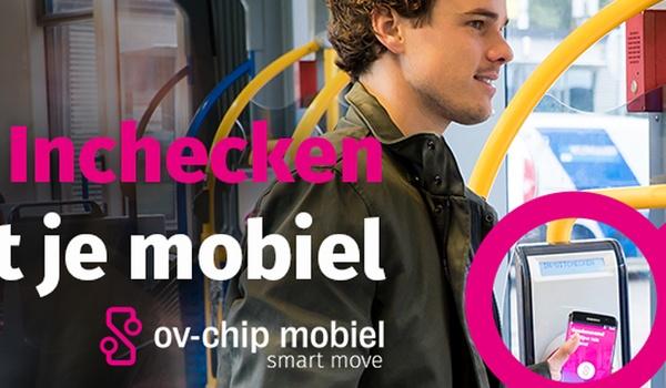 Reizen met smartphone als ov-chipkaart nog geen succes