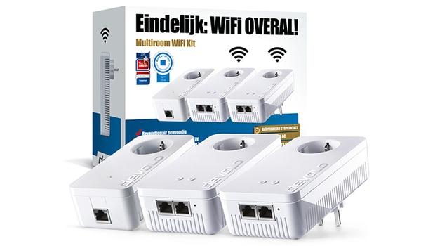 Win een Multiroom WiFi Kit van devolo