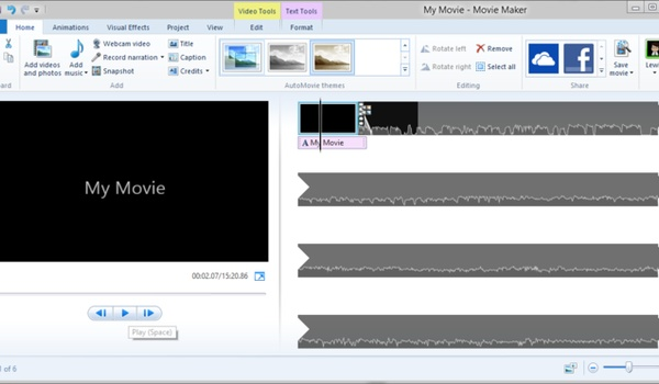 Video's bewerken met Windows Movie Maker (2): Films bewerken
