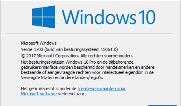 Windows 10 Creators Update wordt deze week uitgebracht voor fabrikanten