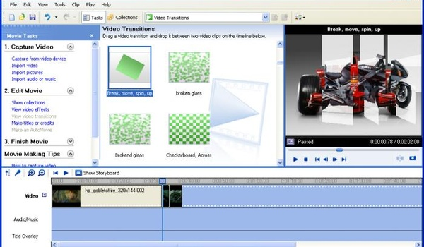 Video's bewerken met Windows Movie Maker (1): Introductie