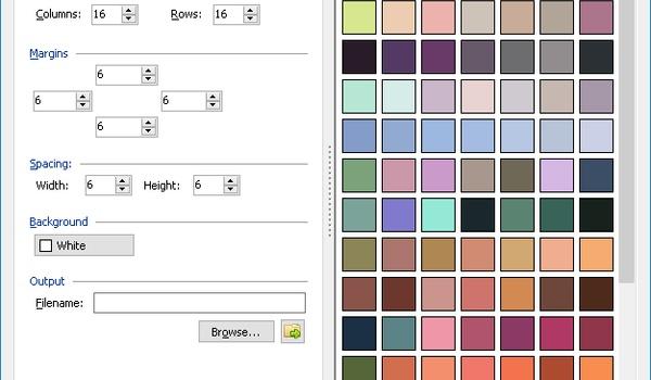 Cyotek Color Palette Editor - Maak kleurenpaletten voor fotobewerkers
