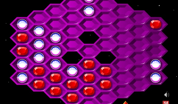Hexxagon - Versla de computer in zeshoekig landjepik
