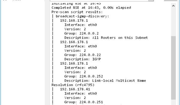 NMap - Scan je netwerk om te zien welke poorten open staan