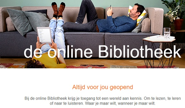 Online bibliotheek met e-boeken telkens populairder