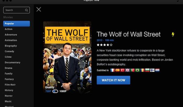 'Popcorn Time grootste bedreiging voor Netflix'