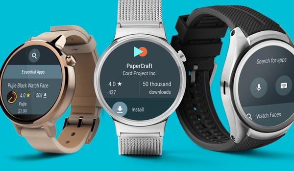 Android Wear-horloges krijgen losse appwinkel