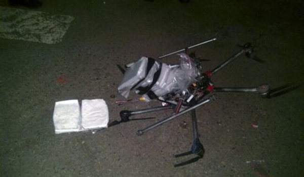 Drugs-drone stort neer in Mexico