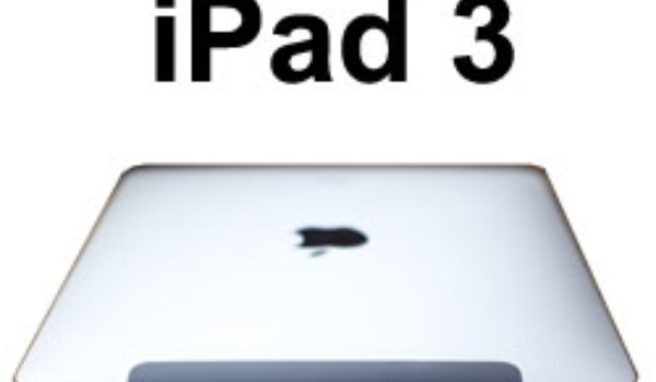 iPad 3 begin 2012 verwacht
