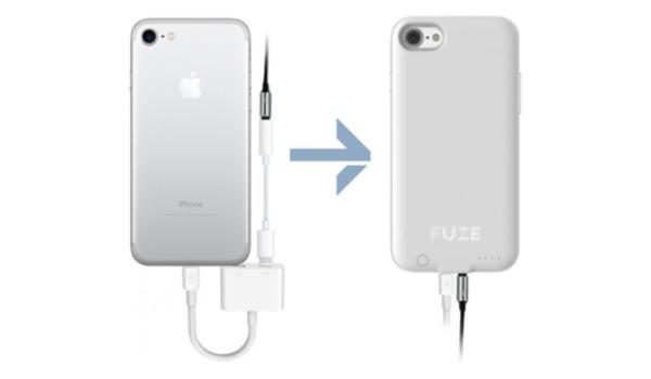 Fuze: iPhone 7-case brengt 3,5 mm-aansluiting terug