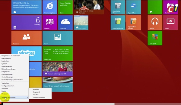 Windows 8.1 na de update