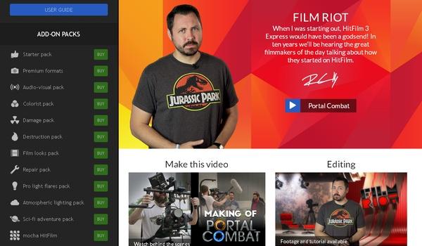 Hitfilm 3 Express - Maak je eigen bioscoopkraker