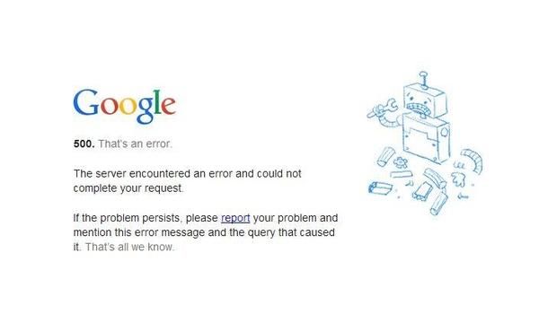 UPDATE: Google kampte kort met wereldwijde storing