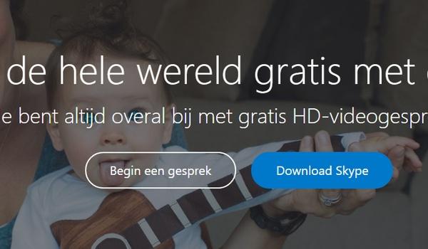 Gebruik Skype zonder account of installatie