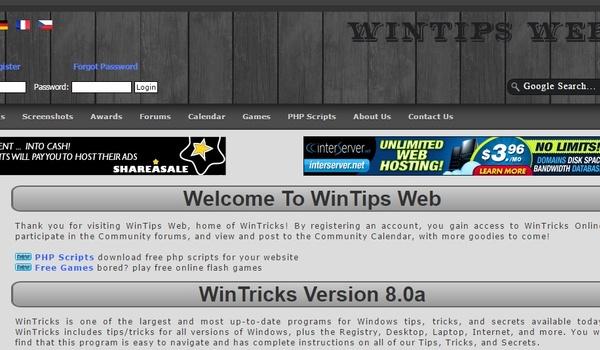 Veel Windows-tips met WinTricks