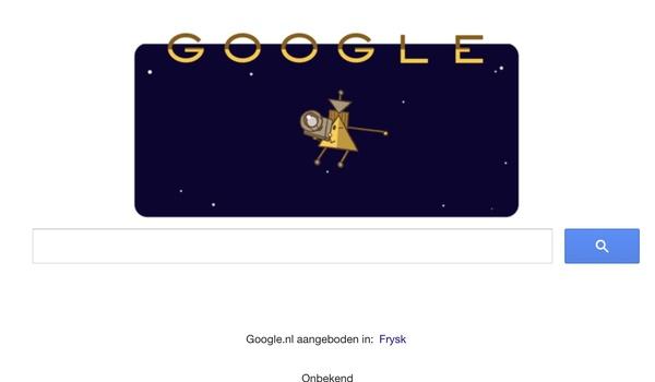 Ruimtesonde Cassini vereerd met een Google doodle